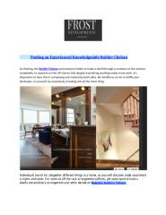 Finding an Experienced Knowledgeable Builder Chelsea.pdf