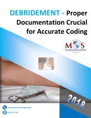 Debridement - Proper Documentation Crucial for Accurate Coding.pdf