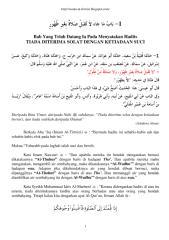 01 hadits tiada dterima solat dengan ketiadaan suci.pdf