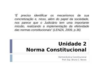 Unidade 2 norma constitucional.ppt
