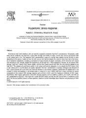 Hypertonic Stress Response.pdf