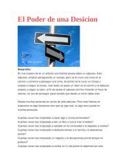 El Poder de una Desicion.docx
