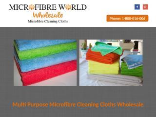 Multi Purpose Microfibre Cleaning Cloths Wholesale.pptx