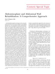 Abdominoplasty and Abdominal Wall.pdf