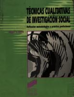 Miguel Valles - Tecnicas Cualitativas De Investigacion Social.PDF