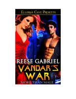 Reese Gabriel - More than Male 06 - Vandar's War.pdf