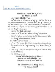 DE KT VAN 6 HKI - TRUONG THCS & THPT LE HONG PHONG.doc